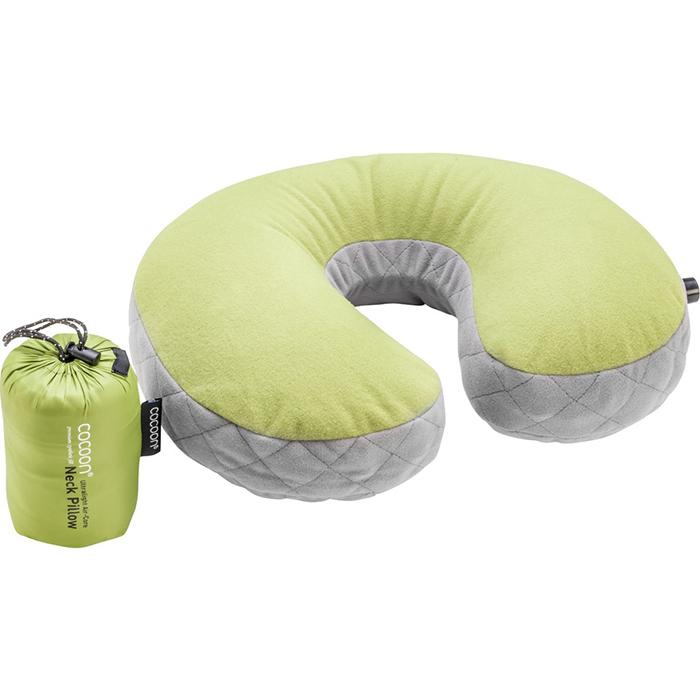 奧地利 COCOON|極輕舒適 超細纖維U型充氣頸枕 -綠