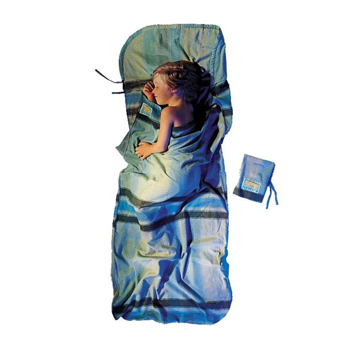 奧地利 COCOON 舒適睡眠 保暖法蘭絨兒童/嬌小成人款旅行床單-大格紋