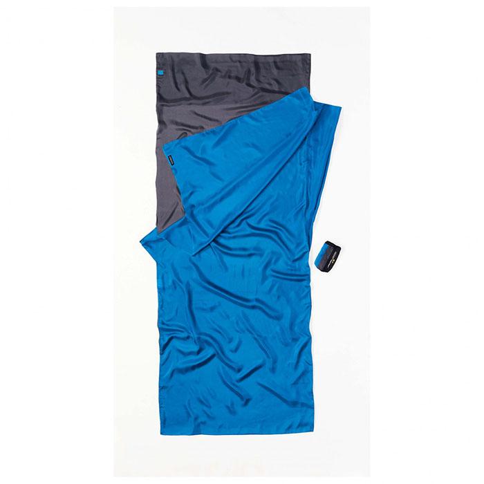 (複製)奧地利 COCOON|輕巧親膚 100%純絲 旅用床單 / 睡袋內袋-藍格紋