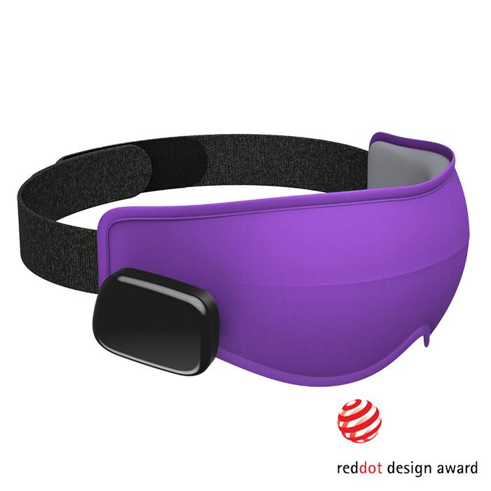 (複製)美國Dreamlight |HEAT MINI 無線熱敷全遮光助眠眼罩 - 灰色