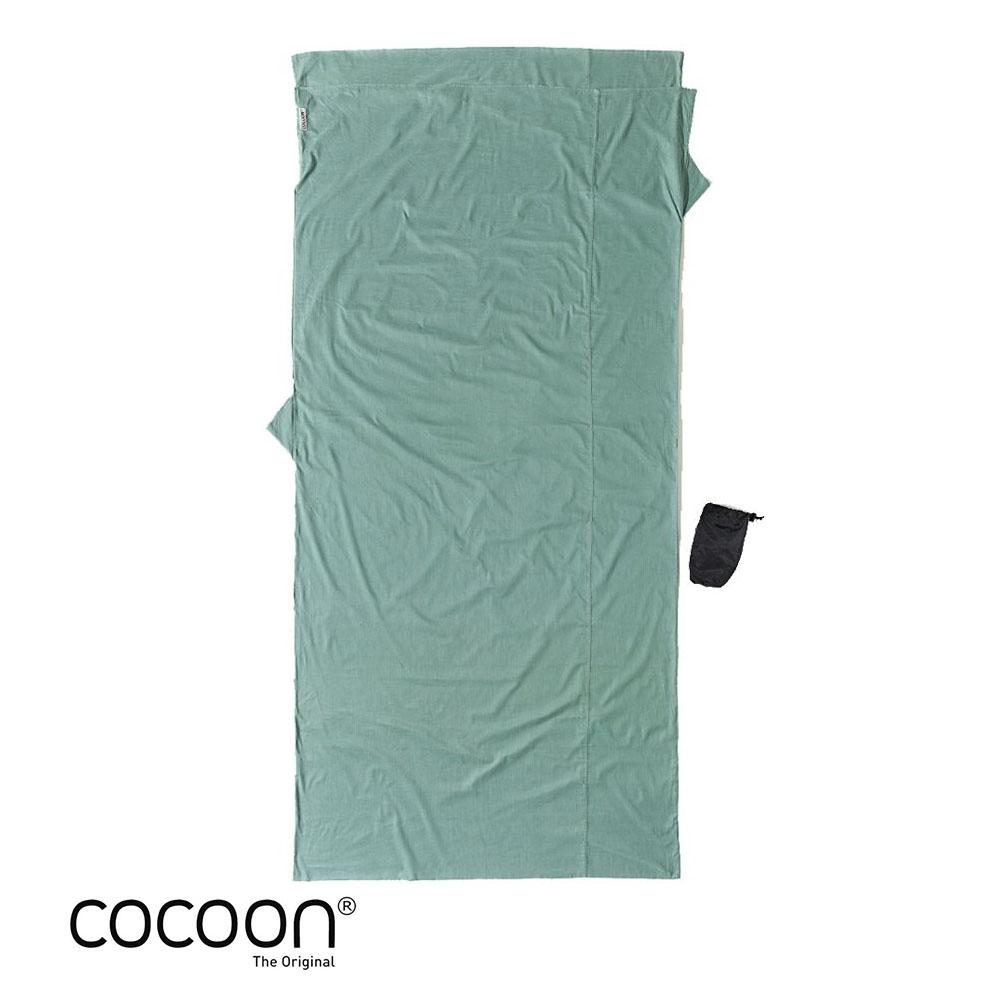 奧地利 COCOON 舒適睡眠 天然純棉旅行床單/睡袋內袋-仙人掌色