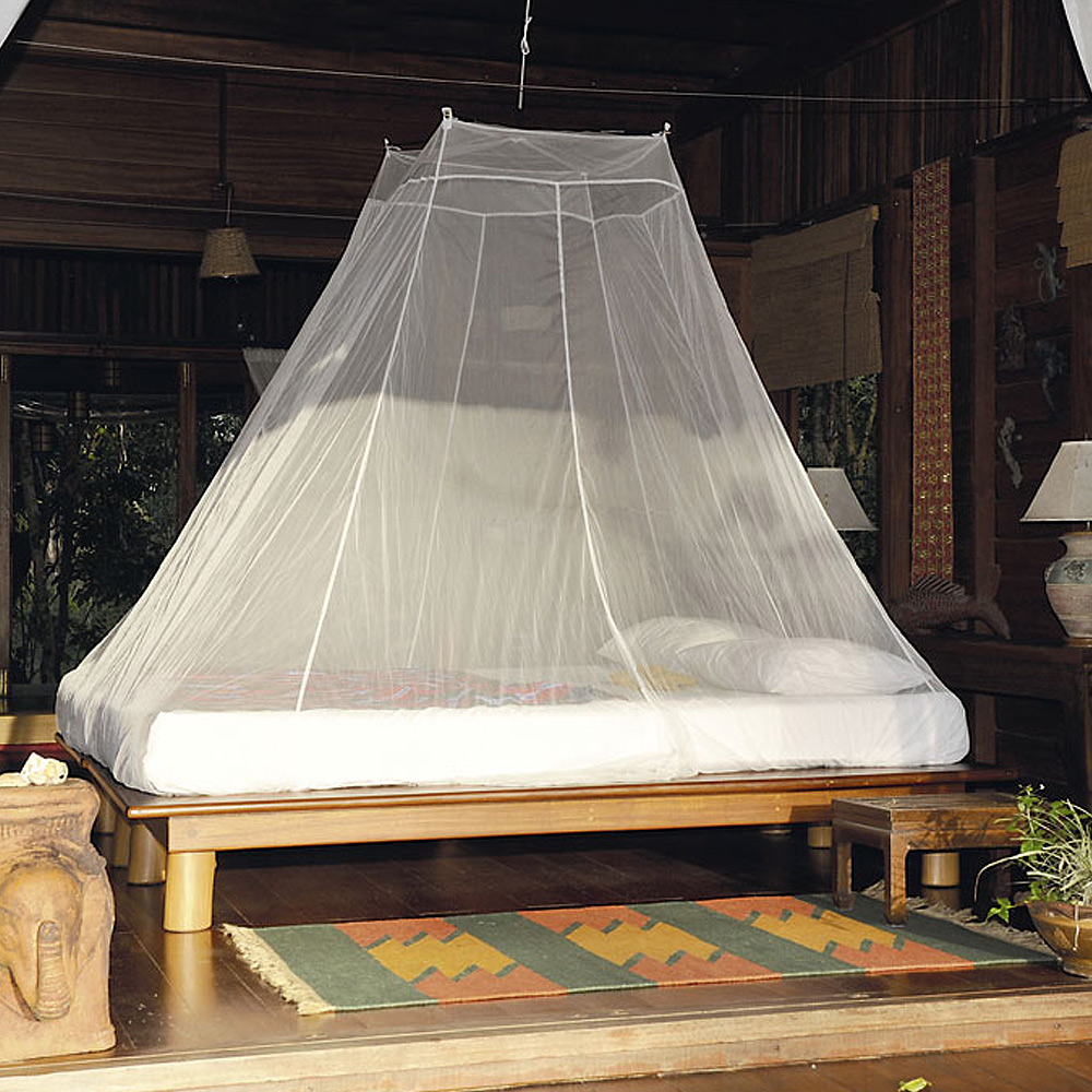 奧地利 COCOON|戶外露營旅遊 防蟲蚊帳-雙人-白