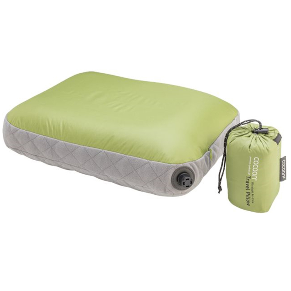 奧地利 COCOON|極輕舒適 超細纖維充氣枕頭靠墊 -亮綠
