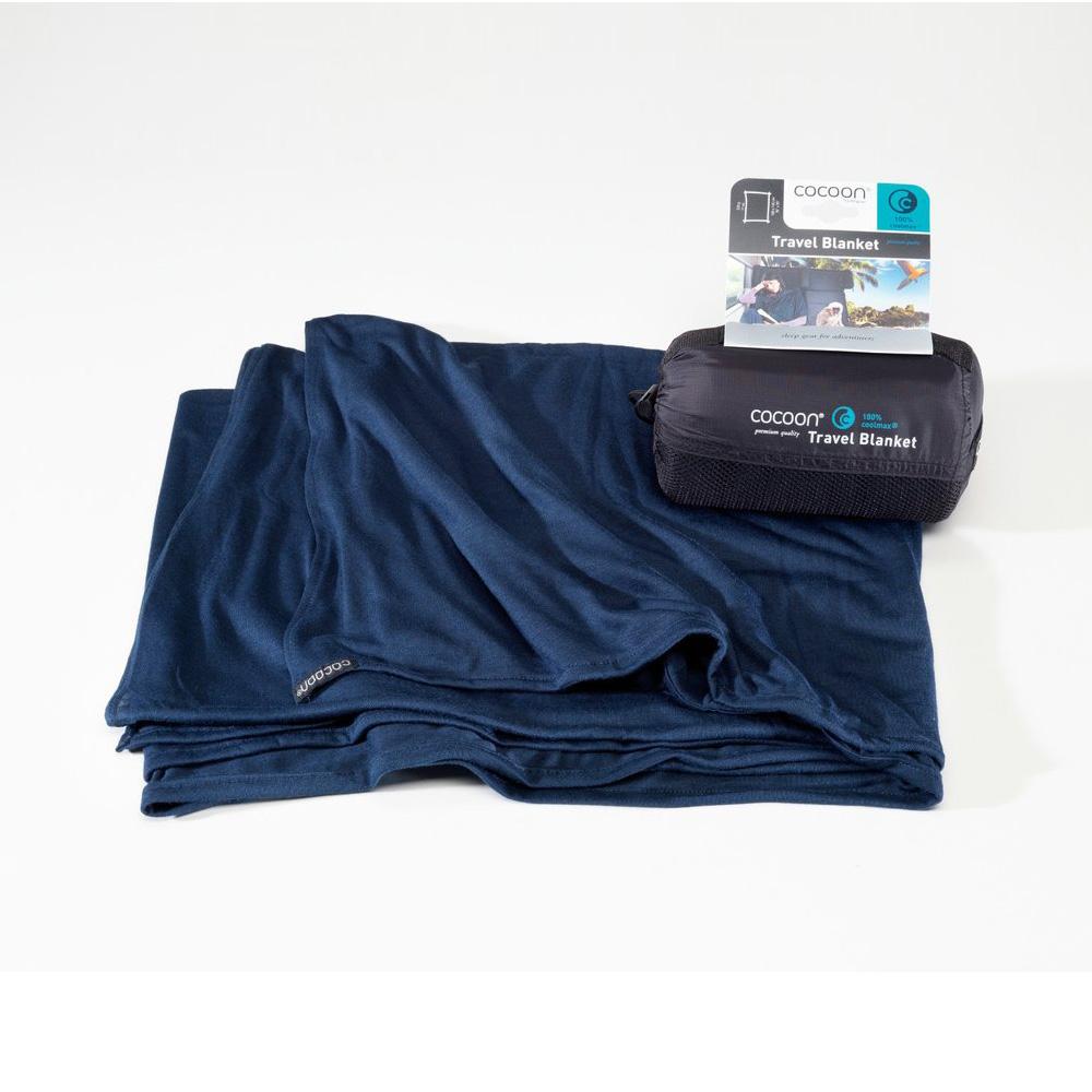 奧地利 COCOON|COOLMAX 輕量快乾旅行毛毯-深藍