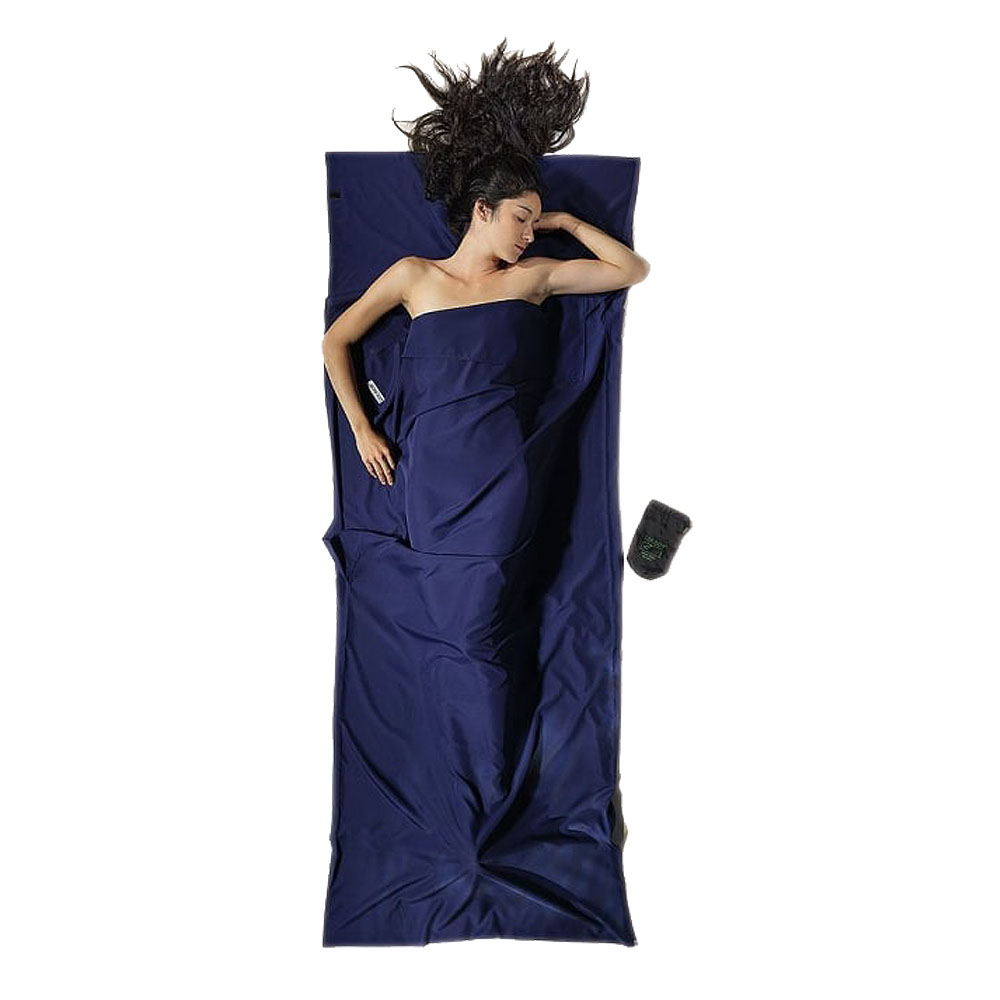 奧地利 COCOON|輕量快乾 COOLMAX睡袋內袋 / 旅用床單-藍