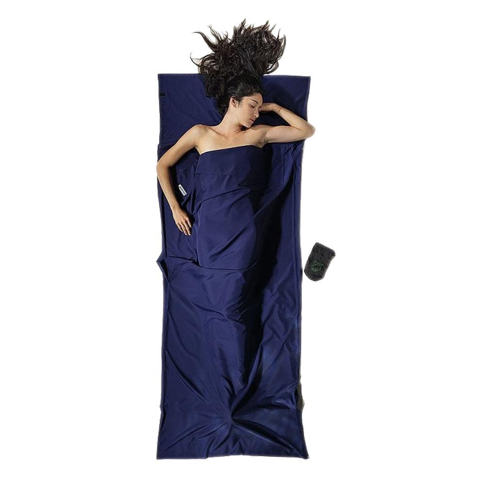 奧地利 COCOON 輕量快乾 COOLMAX睡袋內袋 / 旅用床單-藍
