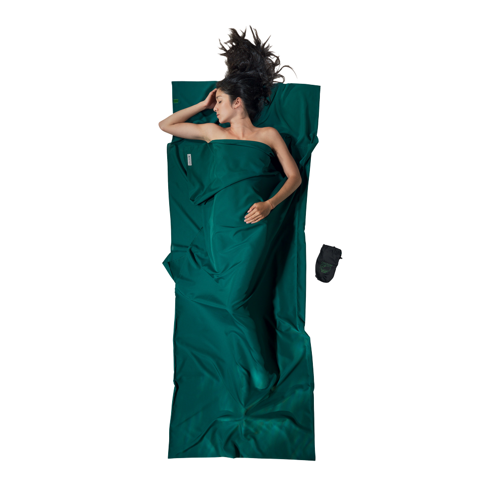 奧地利 COCOON|快乾輕量 Microfiber超細纖維旅用床單/睡袋內袋-森綠