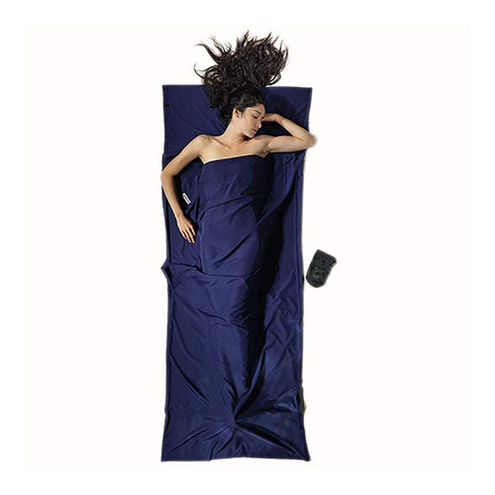 奧地利 COCOON|快乾輕量 Microfiber超細纖維旅用床單/睡袋內袋-藍
