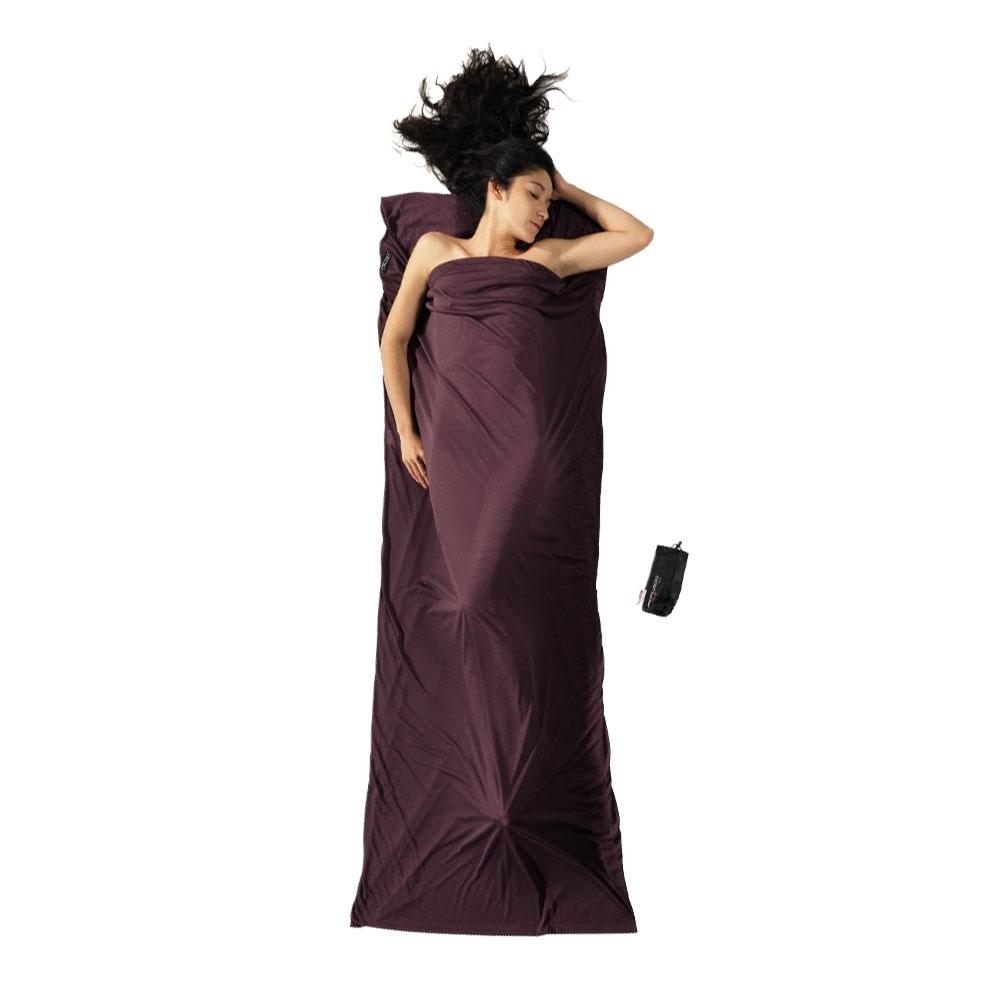 奧地利 COCOON 升溫7度C -中空保暖纖維旅用床單 / 睡袋內袋 - 紫