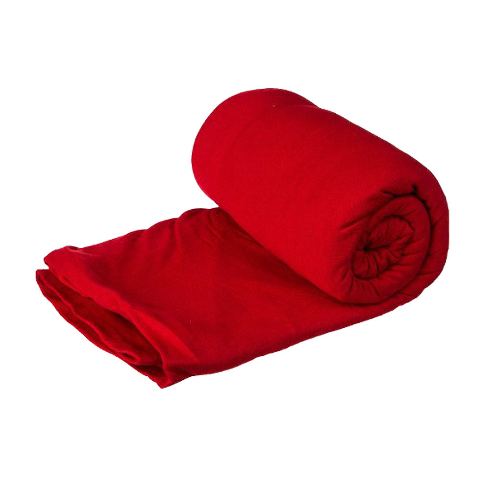 奧地利 COCOON|升溫9度C - 超保暖溫控中空纖維旅用床單 / 睡袋內袋(木乃伊型) - 岩漿紅