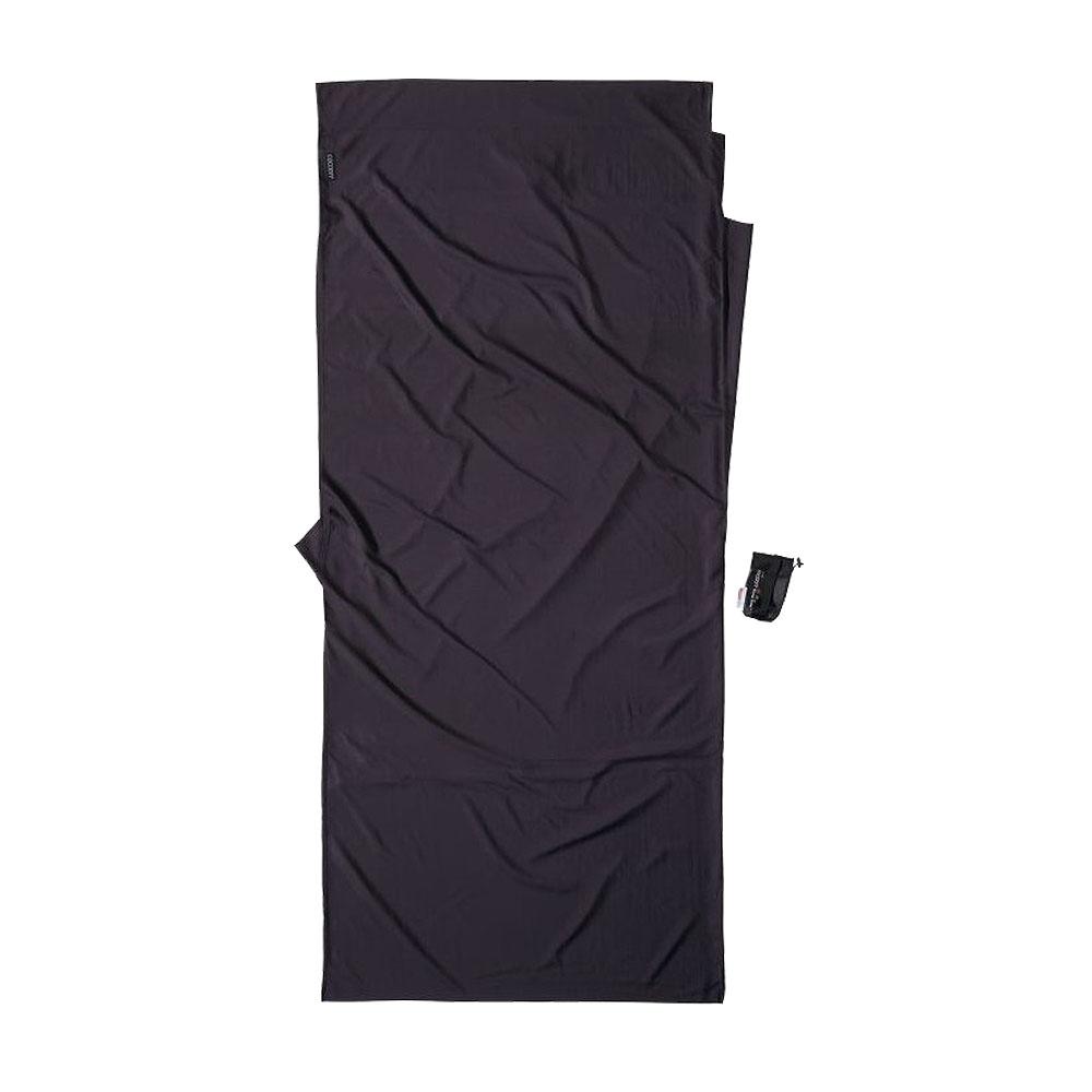 奧地利 COCOON|升溫6.3度C - 輕量保暖中空纖維混絲旅用床單 / 睡袋內袋 - 火山灰