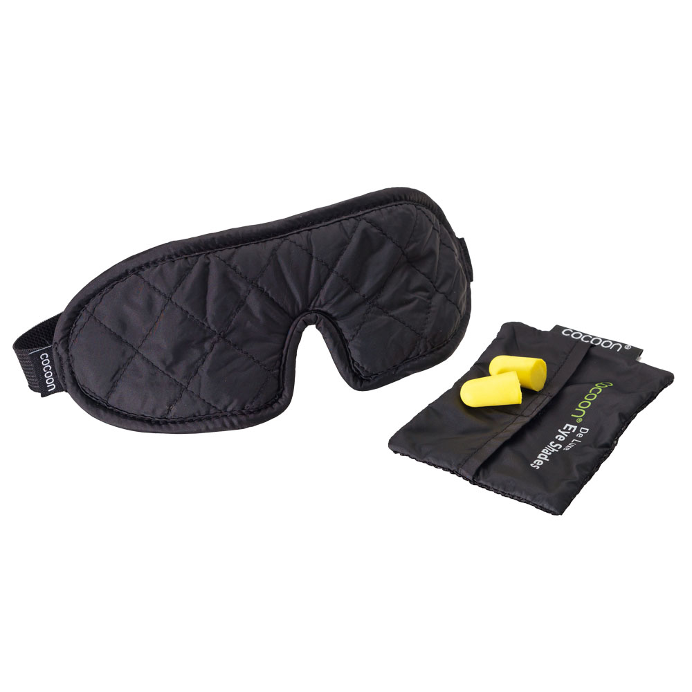 奧地利 COCOON|旅行助眠眼罩(附耳塞) -舒壓款-黑