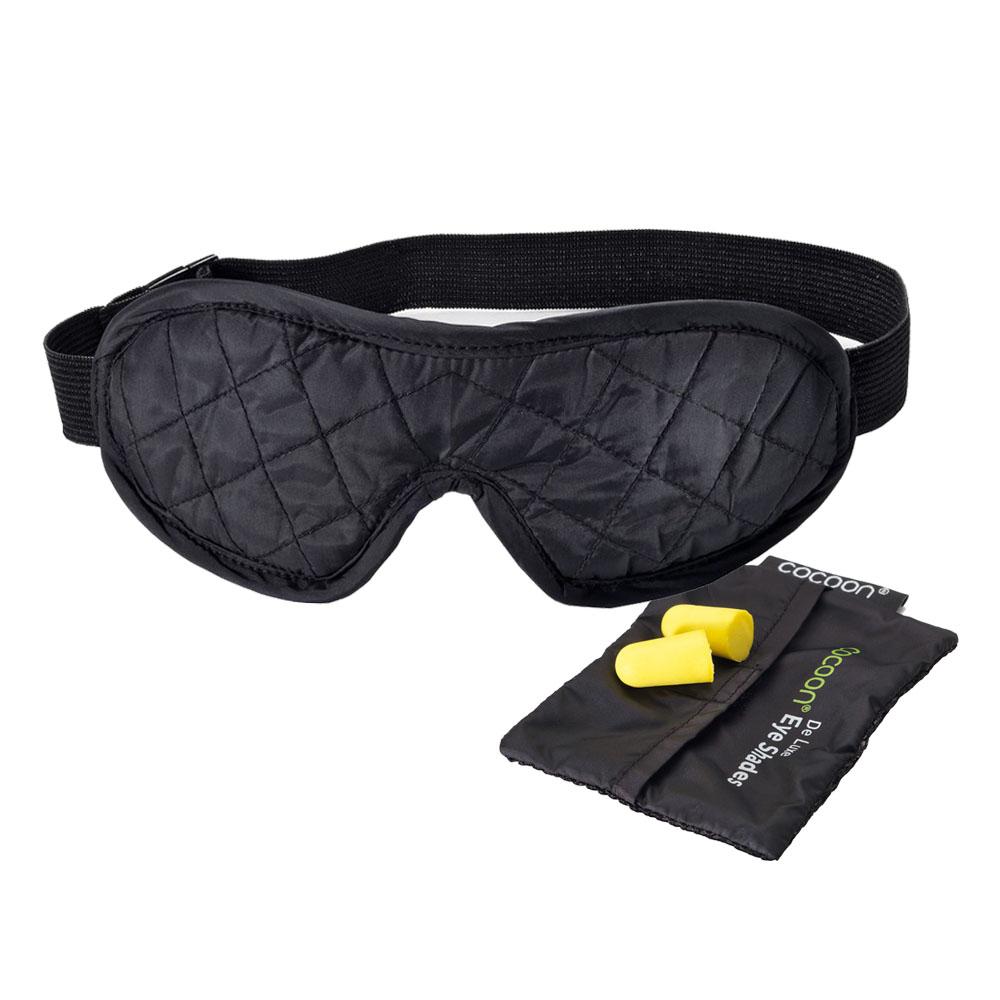奧地利 COCOON 旅行助眠眼罩(附耳塞) - 標準款-黑