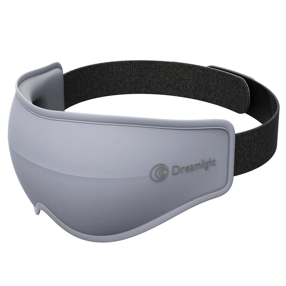 美國Dreamlight HEAT MINI 無線熱敷全遮光助眠眼罩 - 灰色
