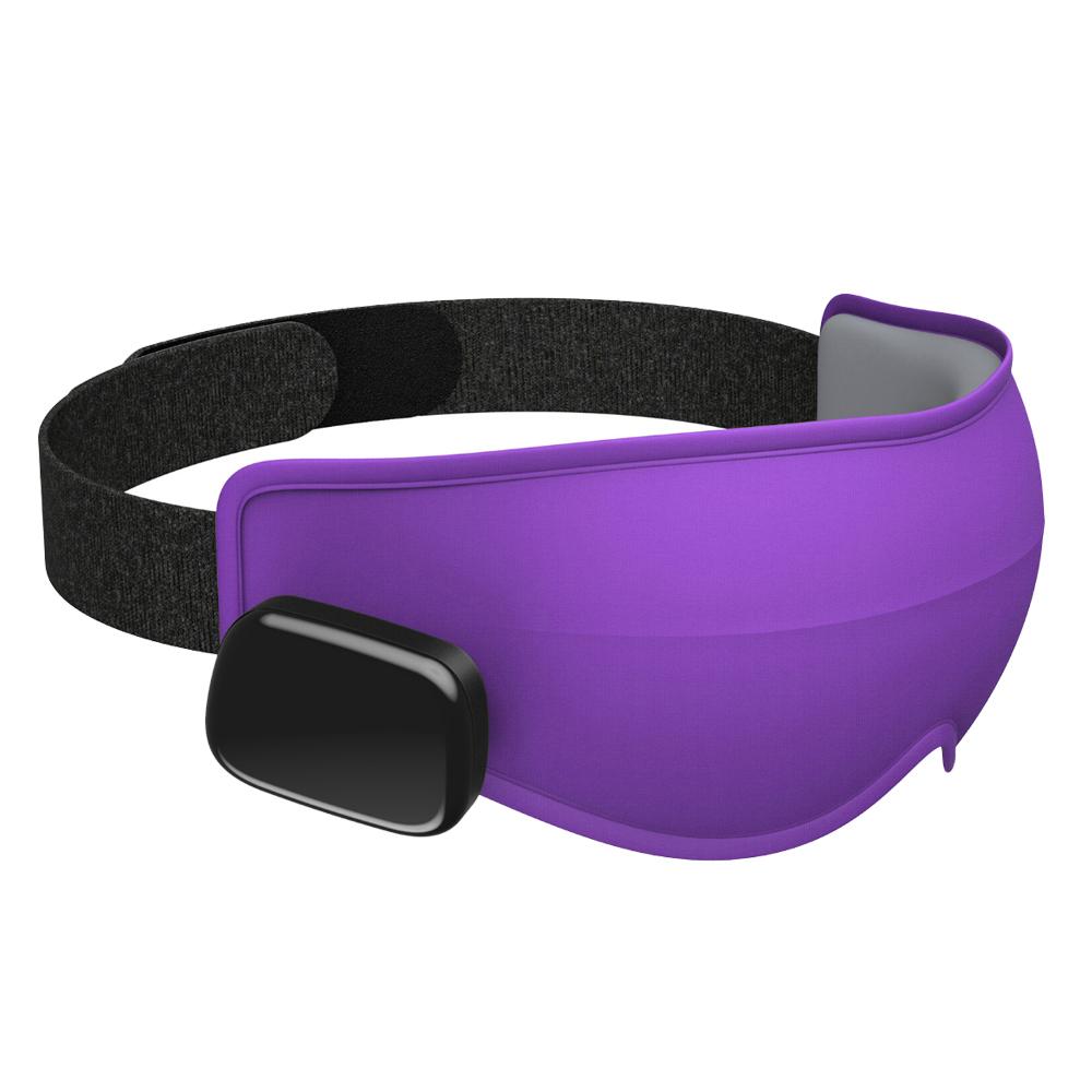 美國Dreamlight|HEAT MINI 無線熱敷全遮光助眠眼罩 - 紫色