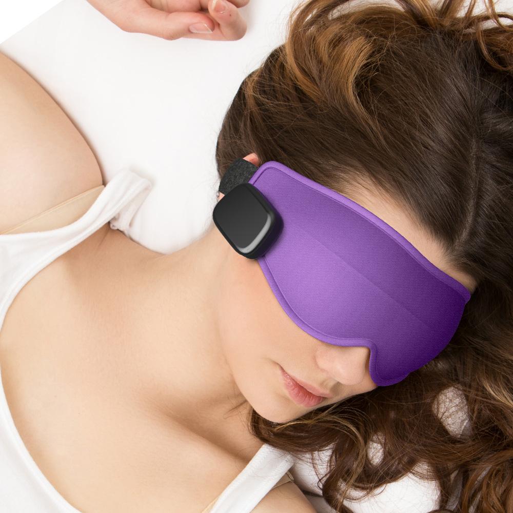 美國Dreamlight HEAT MINI 無線熱敷全遮光助眠眼罩(超值分享2入組)