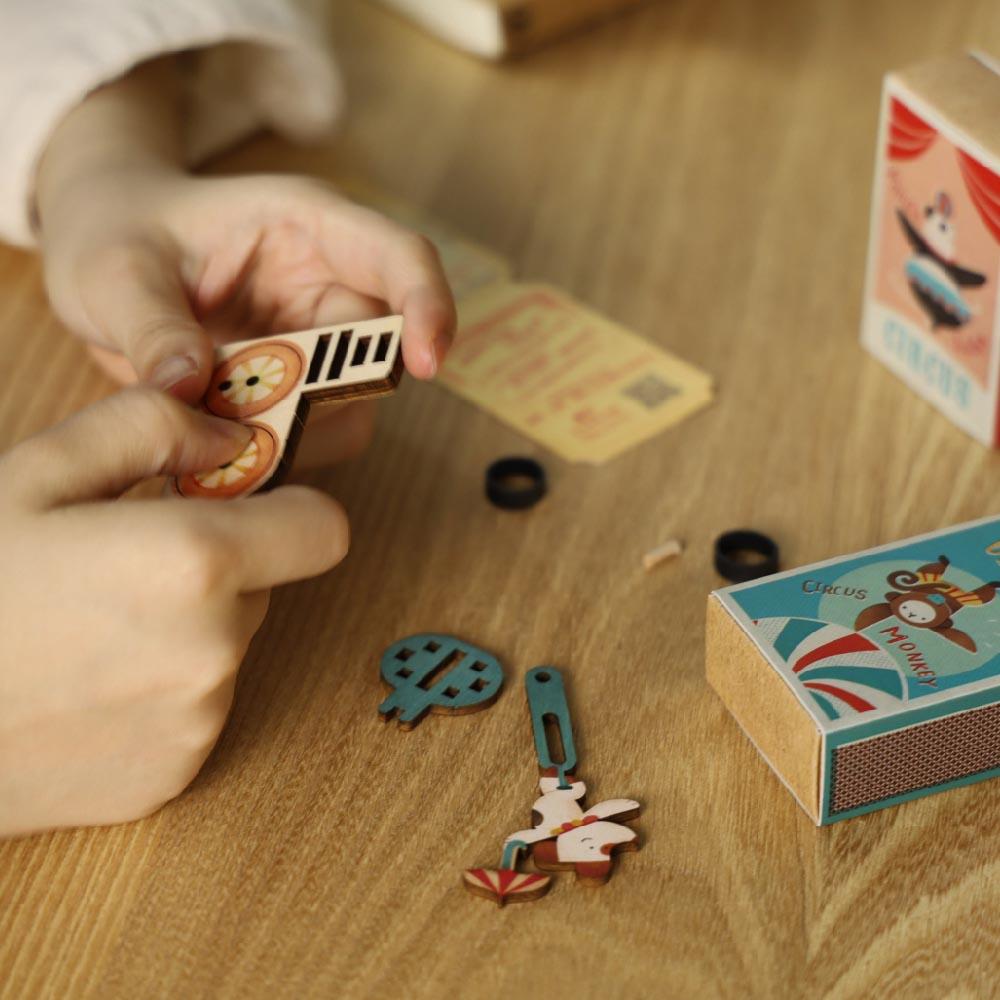 遊木時光 小盒國-可拼成童玩的拼圖(全系列12入)