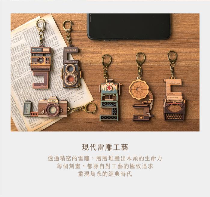 猴子設計 老時光手機架-拍立得