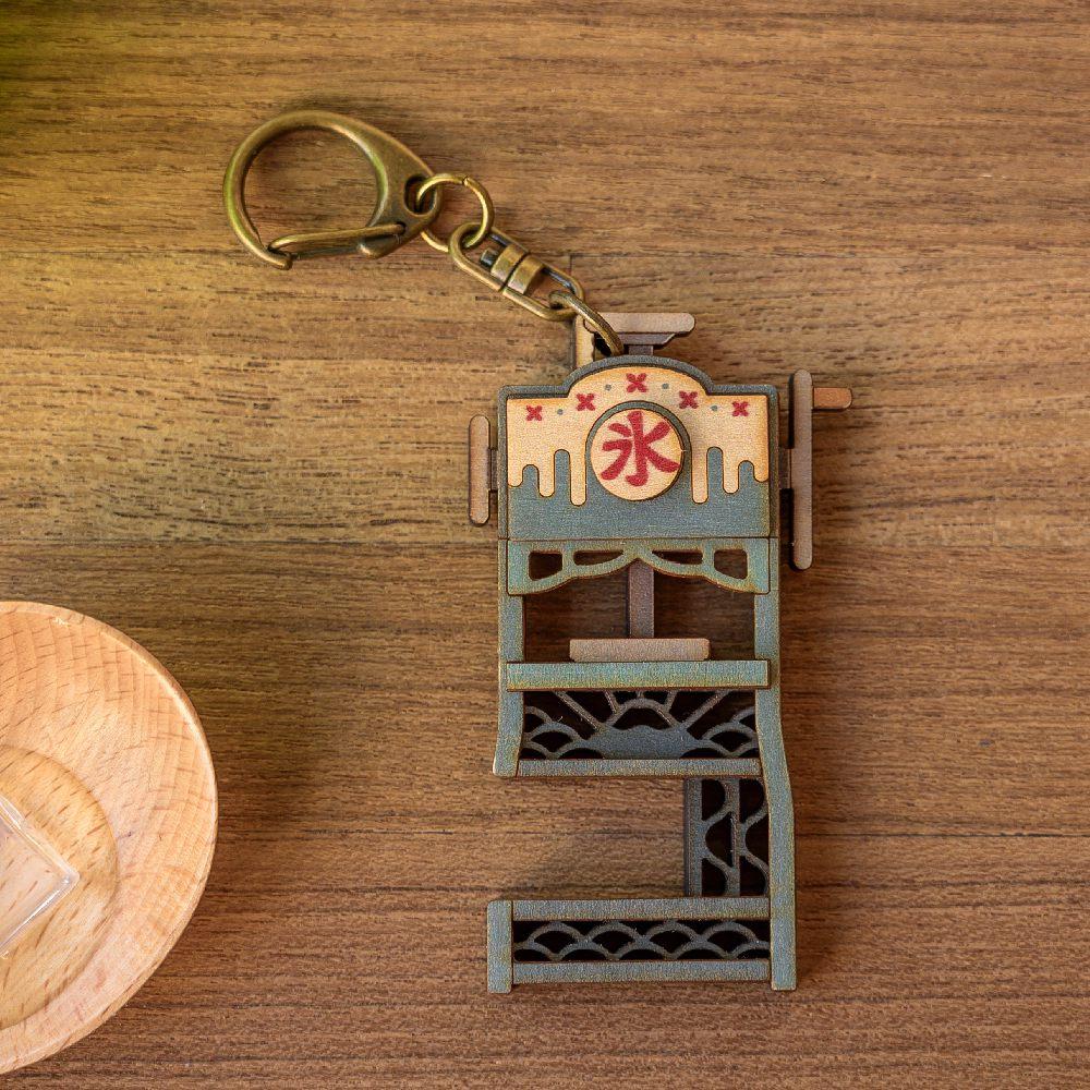 猴子設計 老時光手機架-刨冰機