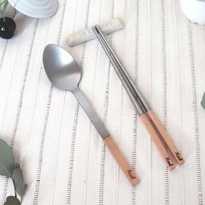 KROLL 純鈦家用餐具組(筷、匙)