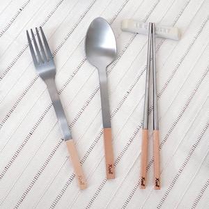 KROLL 純鈦家用餐具組(筷、叉、匙)