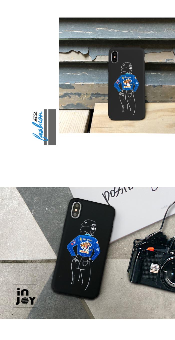 (複製)INJOY mall|iPhone 6 / 7 / 8 / Plus / X 系列 簡約摩登時髦 超輕薄磨砂手機殼
