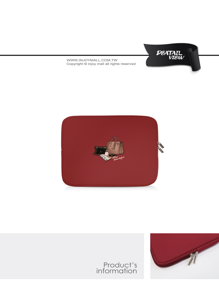 (複製)INJOY mall|MacBook Air / MacBook Pro / 11,13,15吋,復古街頭運動,apple筆電包 / 筆電保護套