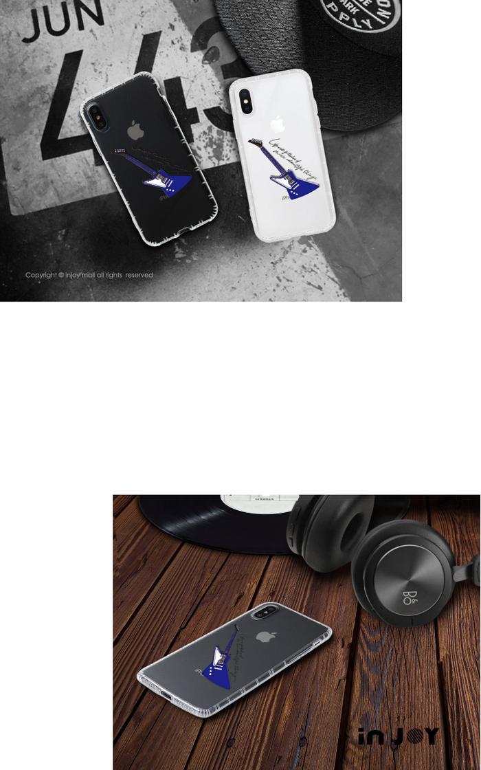 (複製)INJOY mall|iPhone 7 / 8 / Plus / X 系列 都會個性女孩皮質手機殼 保護殼