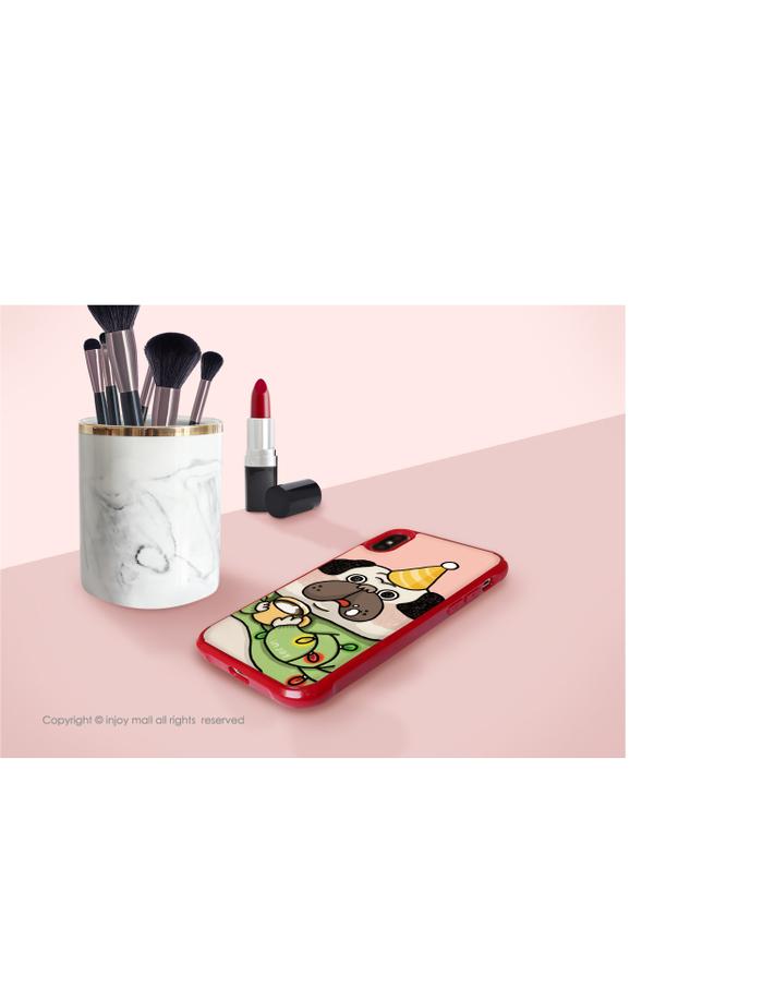 (複製)INJOY mall|iPhone 7 / 8 / Plus / X / XS / XR / max 系列 狂野時尚豹紋  耐撞擊邊框手機殼