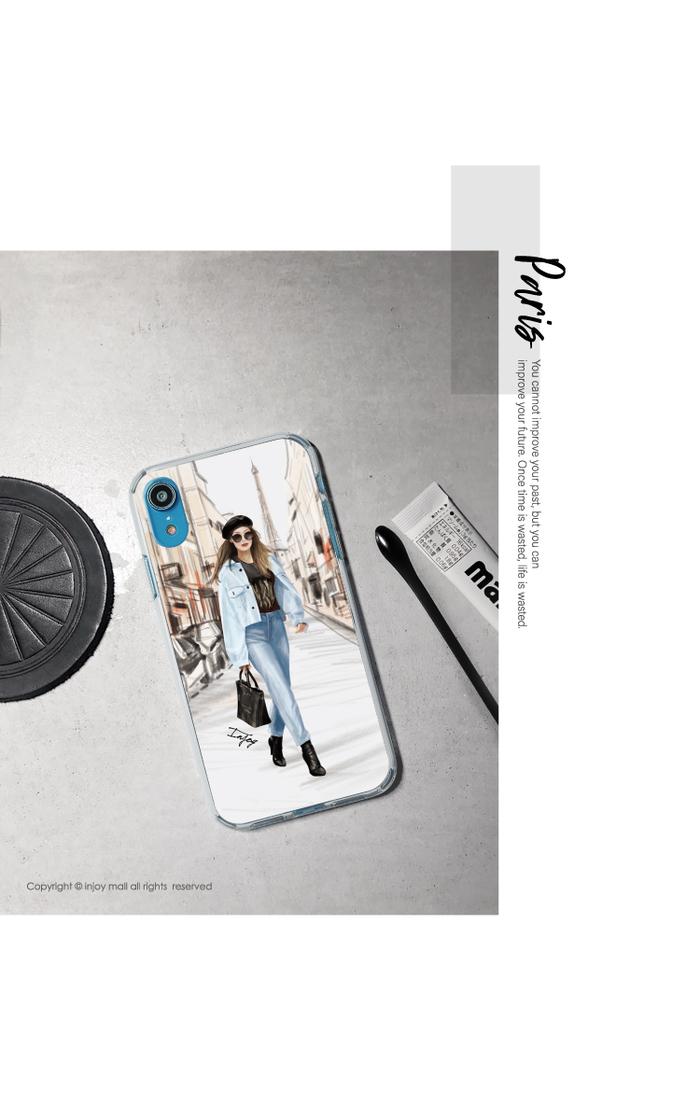 (複製)INJOY mall|iPhone 7/8/Plus/X/XS/XR/max 低調中性幾何色塊耐撞擊邊框手機殼