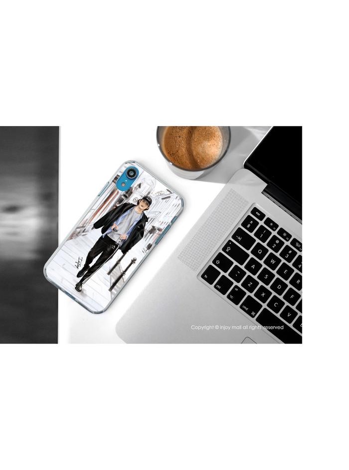 (複製)INJOY mall|iPhone 6/7/8/Plus/X/XS/XR/max 巴黎女伶透明耐衝擊防摔手機殼