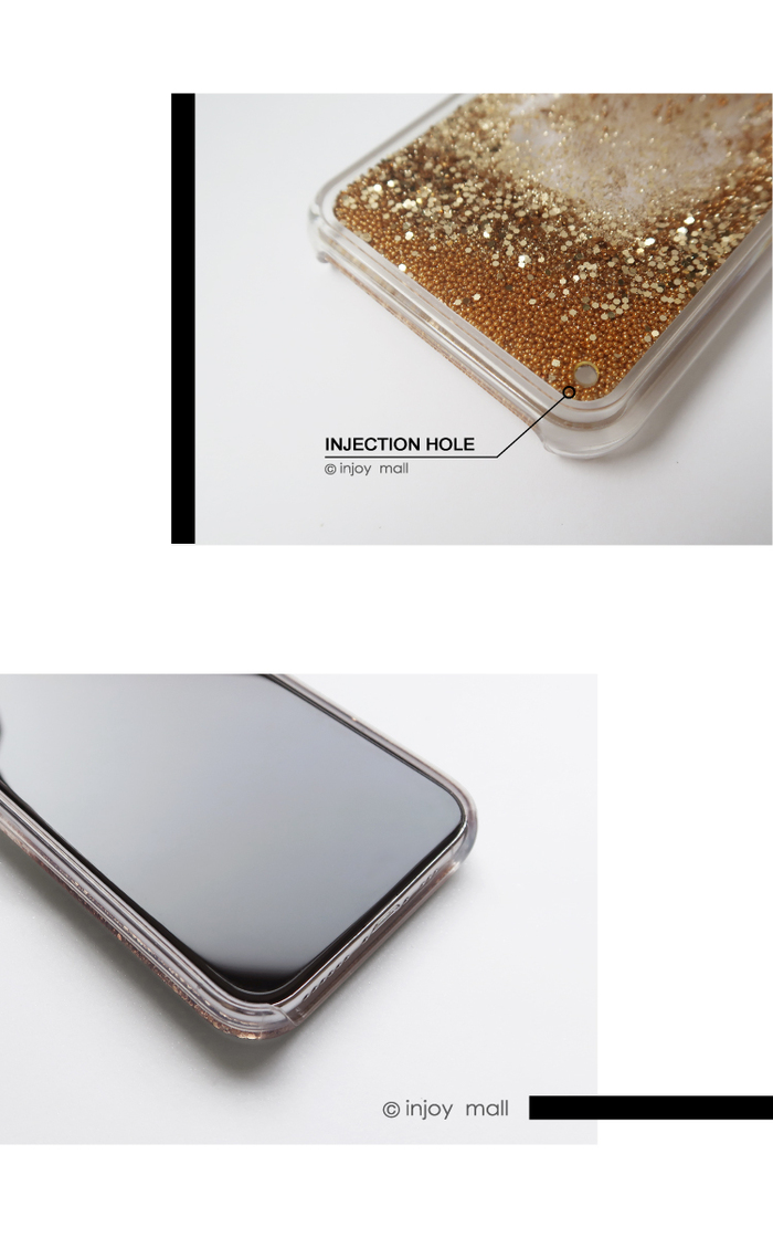 INJOY mall|iPhone 6/7/8/Plus/XS/XR/max小熊貓吃拉麵 透明 閃亮 流沙手機殼