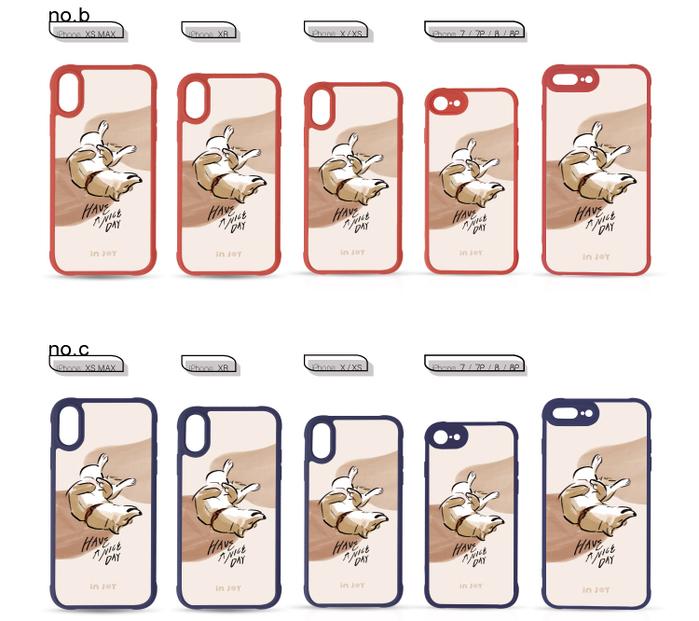 (複製)INJOY mall|iPhone 7/8/Plus/X/XS/XR/max 熱情莓果幾何色塊耐撞擊邊框手機殼