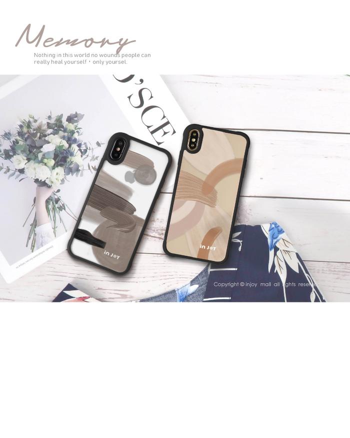 (複製)INJOY mall|iPhone 7/8/Plus/X/XS/XR/max/11 pro/11 max 戀愛氣息 耐撞擊磨砂邊框手機殼
