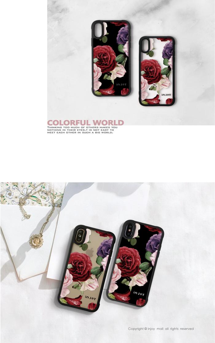 (複製)INJOY mall|iPhone 7/8/Plus/X/XS/XR/max 小P大吉大利耐撞擊邊框手機殼