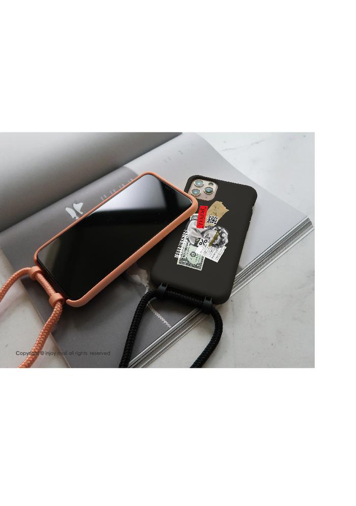 (複製)INJOY mall|iPhone 7/8/Plus/X/XS/XR/max/11/11pro/11max/SE2 沉醉普羅旺斯 二合一防摔 背繩 手機殼