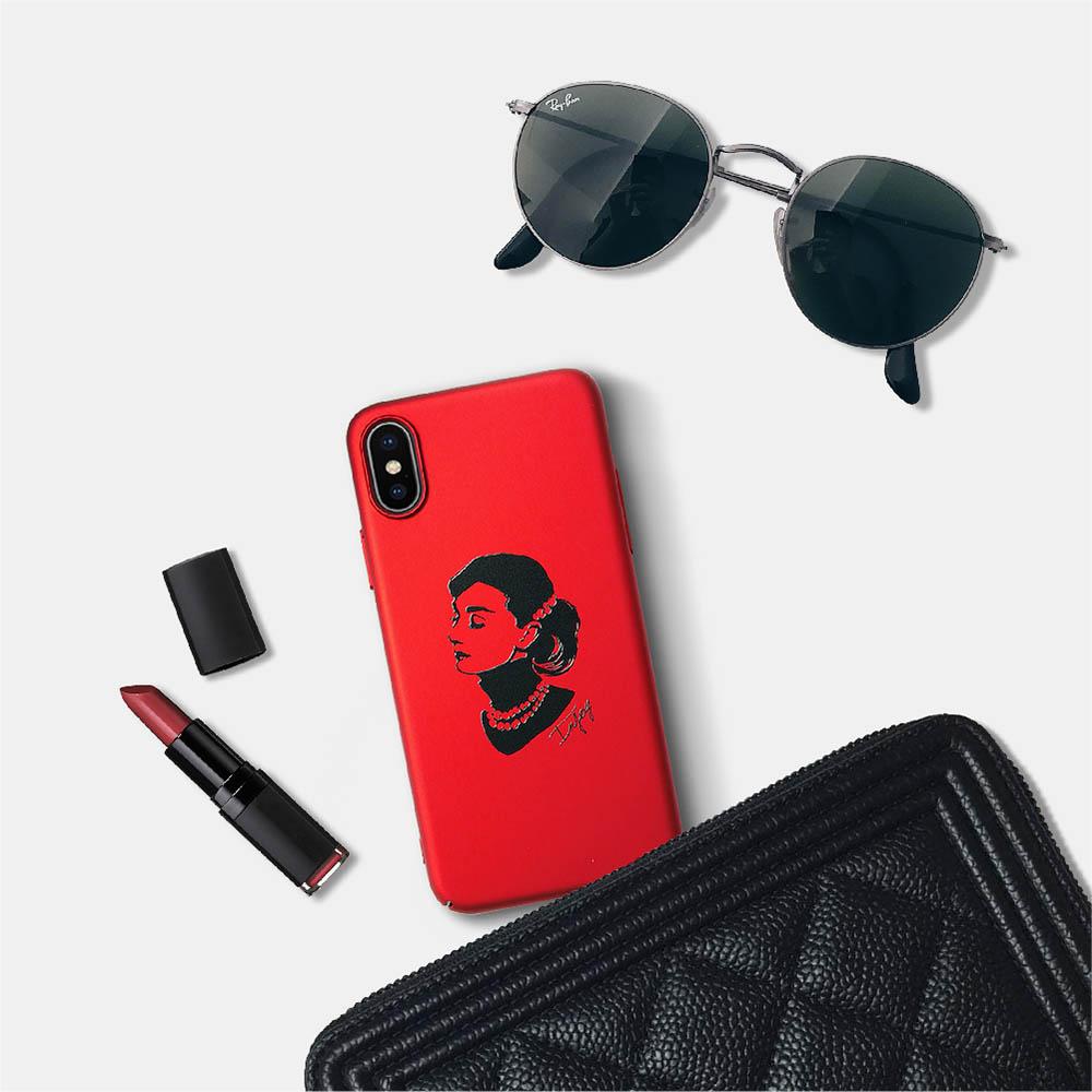 INJOY mall iPhone 6/7/8/Plus/X 簡約摩登時髦 超輕薄磨砂手機殼