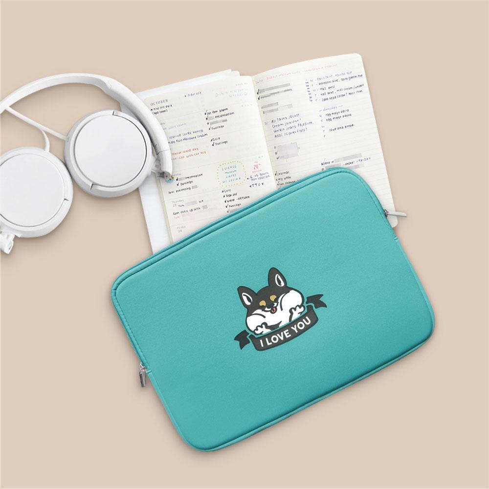 INJOY mall|I LOVE YOU柴犬,MacBook Air,MacBook Pro,11,13,15吋apple筆電包
