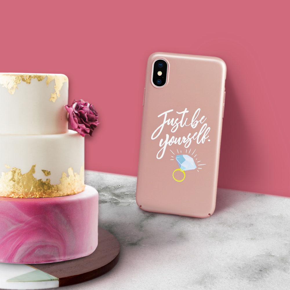 INJOY mall|iPhone 6 /7/8/Plus/X 最好的禮物就是自己 超輕薄磨砂手機殼