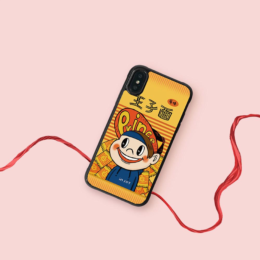 INJOY mall|iPhone 7/8/Plus/X/XS/XR/max 微笑小情人 耐撞擊邊框手機殼