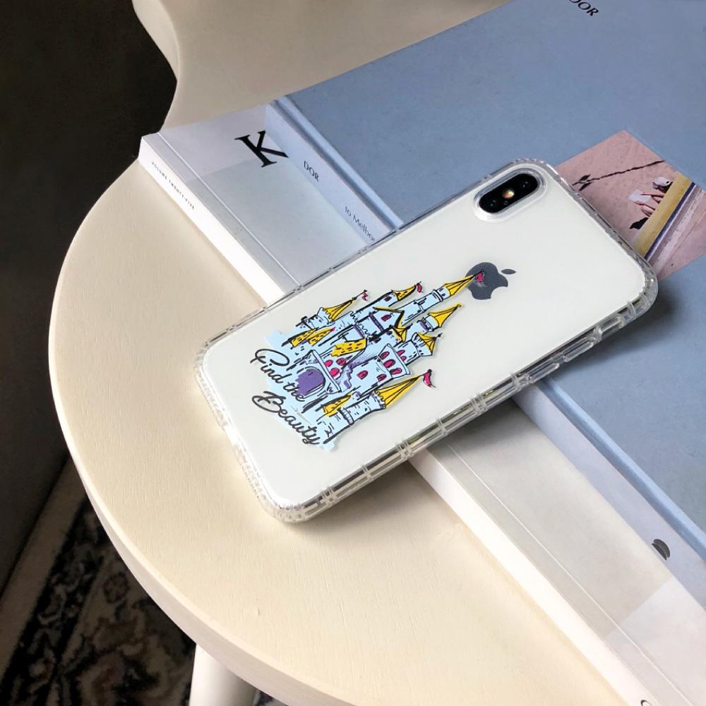 INJOY mall|iPhone 6/7/8/Plus/XS/XR/max/11/11pro/11max 移動城堡防摔耐震亮面手機殼