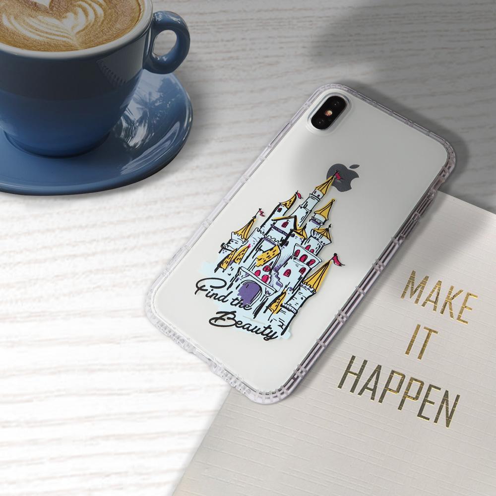 INJOY mall|iPhone 6 / 7 / 8 / Plus / X 系列 移動城堡亮面手機殼