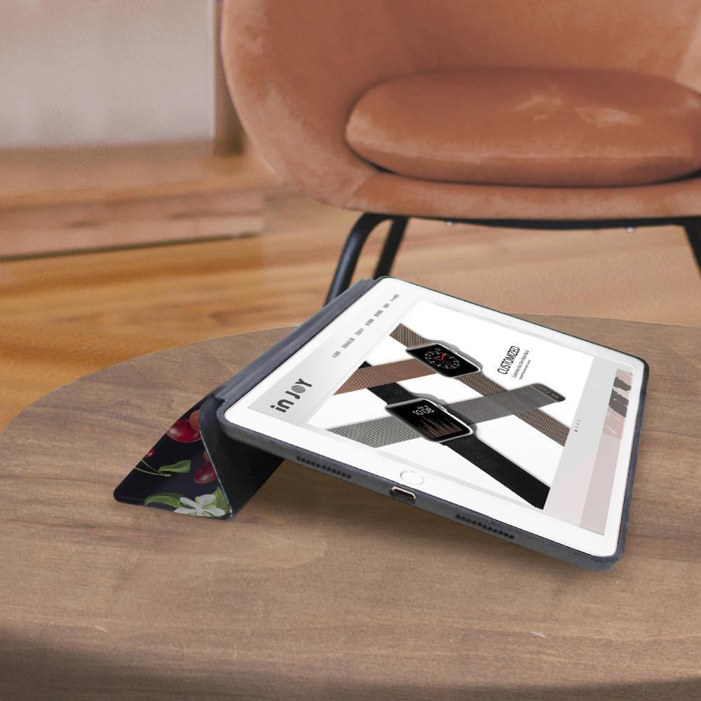 INJOY mall|iPad Pro 10.5 系列 香甜櫻桃 Smart cover皮革平板保護套