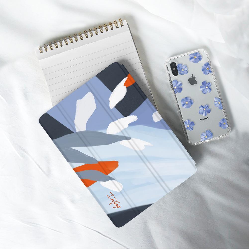 INJOY mall|iPad Pro 12.9 2017 系列 洋溢夏日氣息 Smart cover皮革平板保護套