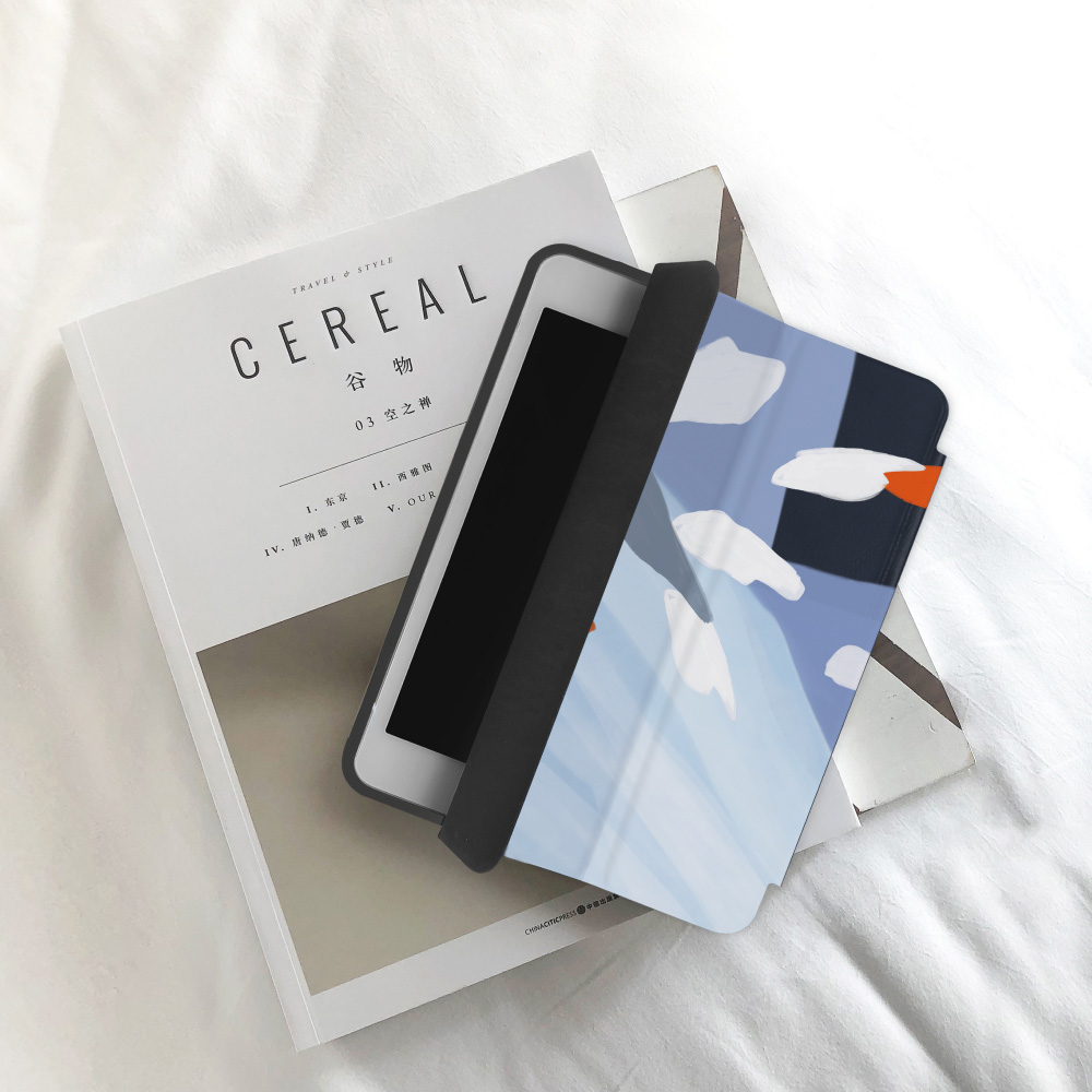 INJOY mall|iPad  9.7 2017 系列 洋溢夏日氣息 Smart cover皮革平板保護套