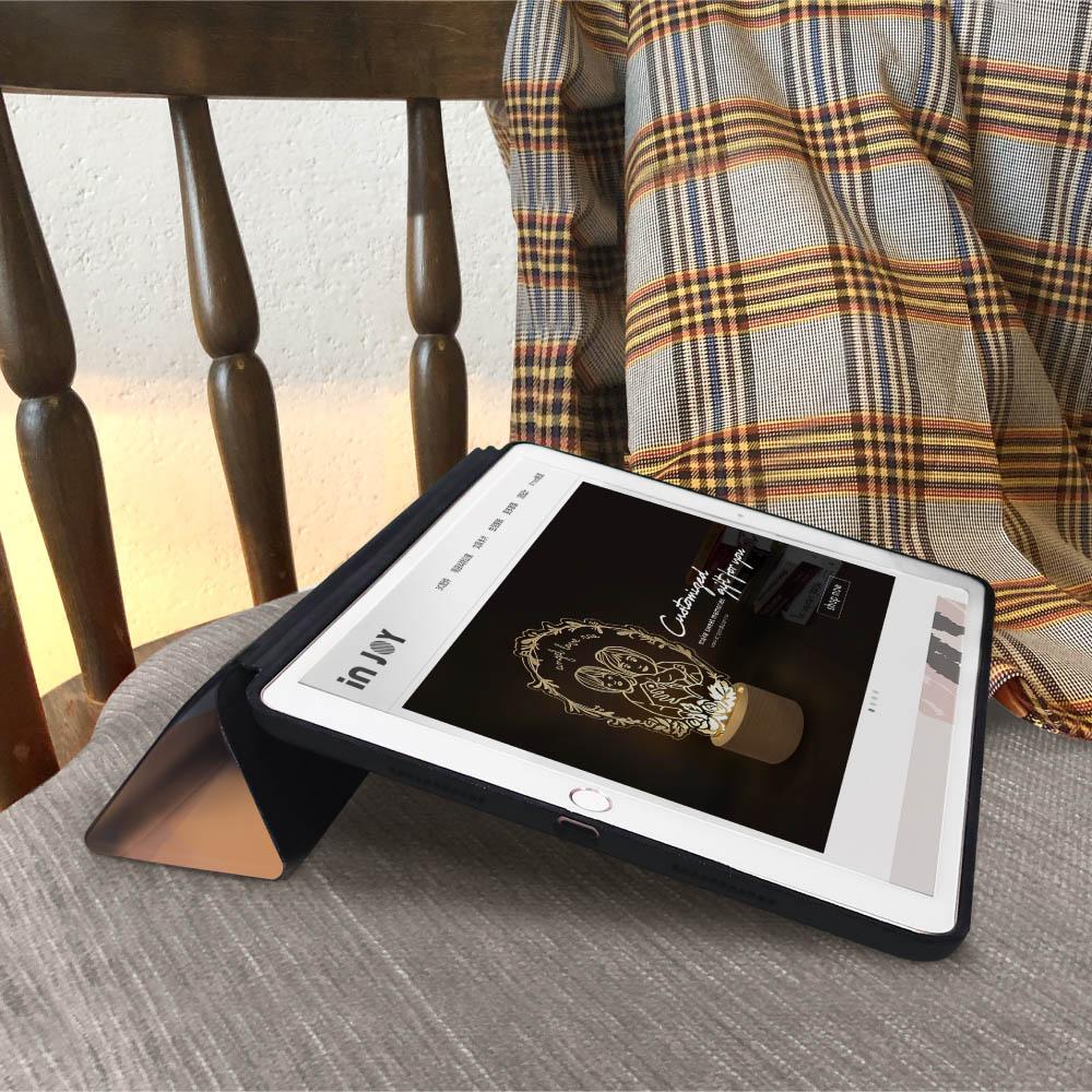 INJOY mall|iPad 9.7 2018 系列 昨日的記憶 Smart cover皮革平板保護套