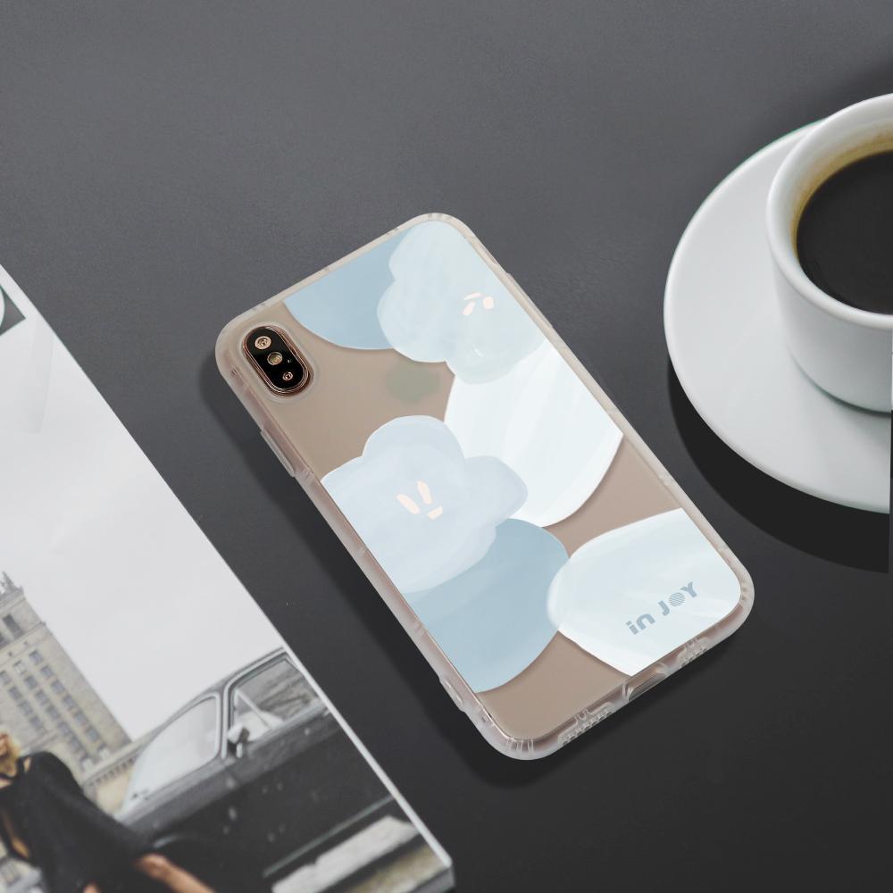 INJOY mall|iPhone 6/7/8/Plus/XS/XR/max/11 pro/11 max 春日香氛防摔耐震磨砂手機殼