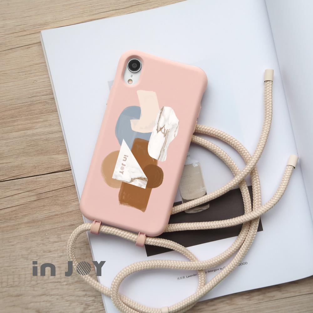 INJOY mall|iPhone 7/8/Plus/X/XS/XR/max/11/11pro/11max/SE2 沉醉普羅旺斯 二合一防摔 背繩 手機殼