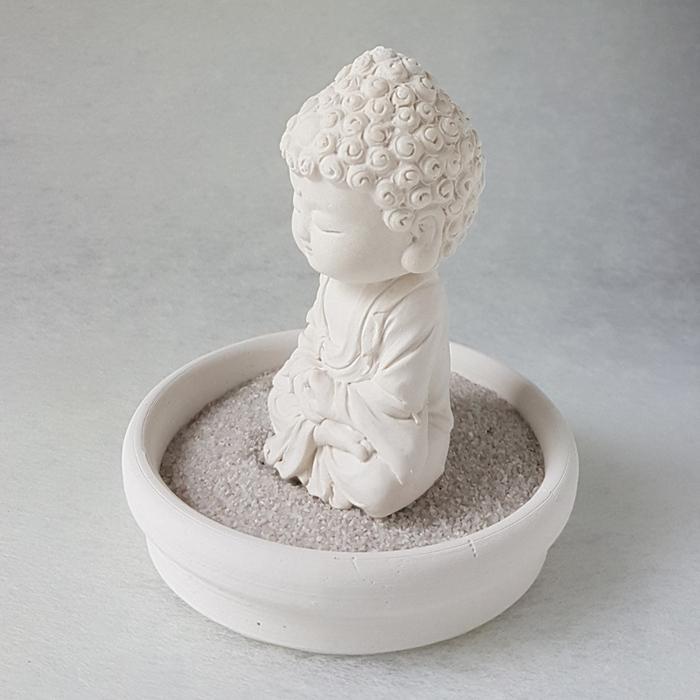 (複製)創藝皂學|淨念吉祥小佛之培德 - 珪藻土擴香石