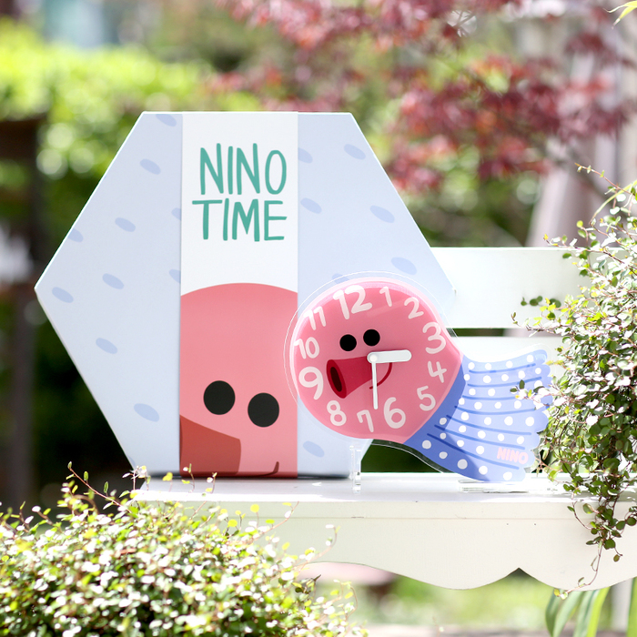 (複製)韓國NINO|HapPy TimE童趣時鐘-章魚小丸子